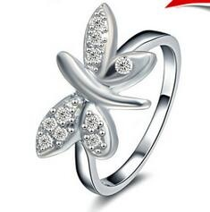 925 Sterling Silver CZ Ring