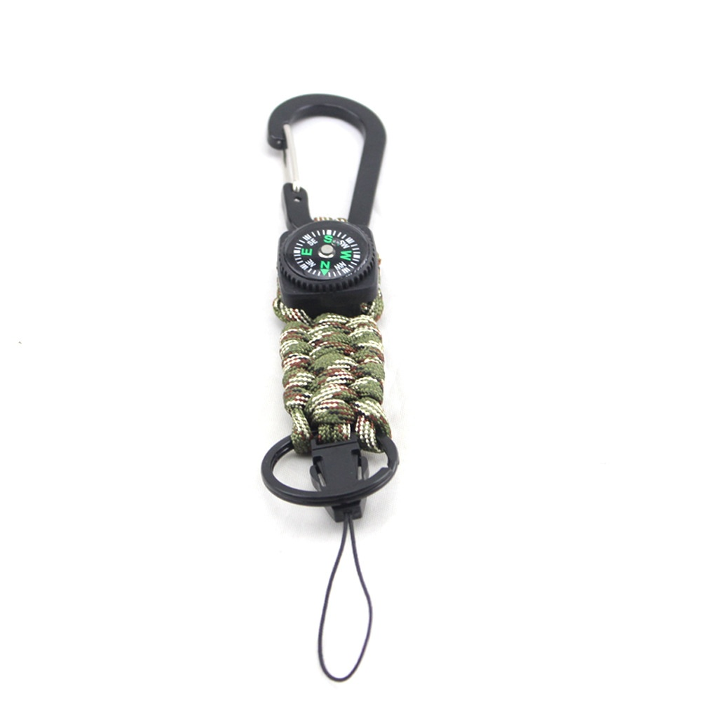 Paracord Survival key chains outdoor keychains