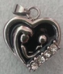Family Stainless Steel Cremation Pendant