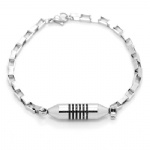 Stainless Steel Urn Cremation Bracelet Memorial Jewelry
