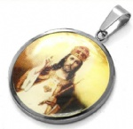 Jesus Pendant Stainless Steel Jewelry IGP Gold plated
