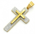 Cross Pendant Stainless Steel Jewelry