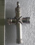 Cross Stainless Steel Cremation Pendant Memorial Jewelry